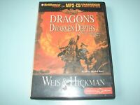 Dragons of The Dwarven Depths By Weis & Hickman - Unabridged MP3 CD Audio Book