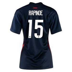 2020 Megan Rapinoe #15 USA WOMENS Blue 4 Star Soccer Jersey, Olympics