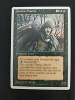 Magic the Gathering Card Fourth Edition 4th MTG Rare Zombie Master