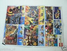 LEGO BROCHURE FLYER CATALOG TOYS 1995 AQUAZONE DUTCH 2 PAGES 077