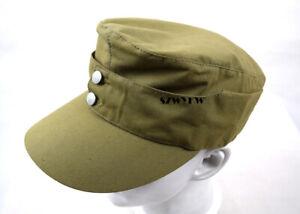 Replica WWII German Afrika Korps Field Cap Hat 58cm