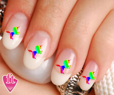 Celestial Unicorn Colorful Nail Decal Stickers UNI102