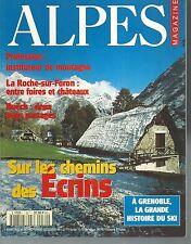 ALPES MAGAZINE n° 30. GRENOBLE, LES ECRINS, LA ROCHE SUR FORON..   Z13C