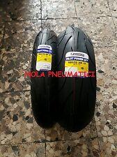 Coppia 120/70-17 W  180/55-17 W Michelin PILOT POWER 2CT bimescola + 30€ rimboso