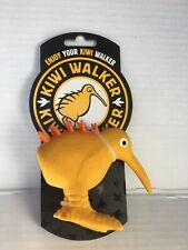 New Small Orange Kiwi Walker Dog Toy Latex Whistle Figure