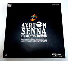 AYRTON SENNA The History 1960-1994 Box JAPAN 3 LD Laser Disc F1 Laserdisc