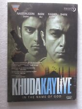 KHUDA KAY LIYE DVD Hindi Movie bollywood India Nasserudin shah Iman Ali
