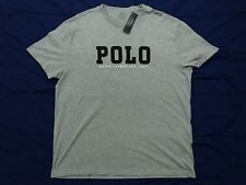 Polo Ralph Lauren Gray Spell Out T Shirt Mens Size XL NEW $55 Spellout