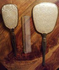Vintage vanity set (Mirror, Brush, Comb) made in USA