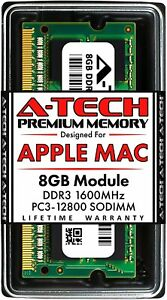 8GB 1600 MHz Memory RAM for APPLE MACBOOK PRO Mid 2012 A1286 MD103LL/A MD104LL/A