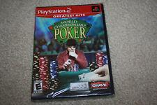World Championship Poker PlayStation 2 PS2 Brand New - R917