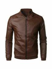 Cappotti, giacche e gilet da uomo marrone pelle