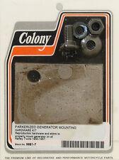 Harley 30-57 Generator Mounting Shim Kit Colony 9681-7