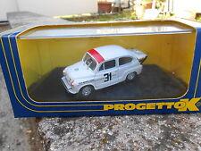 PROGETTO K FIAT ABARTH 1000 TC 1 4H DI MONZA 1965 DRIVER DEMETZ PK121 SCALA 143