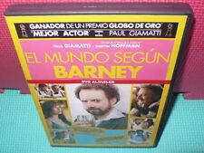 EL MUNDO SEGUN BARNEY - PAUL GIAMATTI - DUSTIN HOFFMAN - dvd