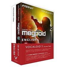 VOCALOID3 Megpoid English Starter Pack Windows Software Vocaloid 3 Japan NEW