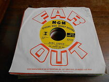 Eric Burdon & War 60s POP ROCK DJ 45 Home Cookin / They Cant Take Away Our Music