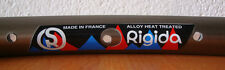 NOS RIGIDA ALLOY CLINCHER RIM 26 INCHES 36 HOLES VINTAGE MADE IN FRANCE 500gr