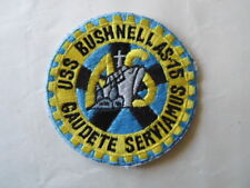 US NAVY PATCH USS BUSHNELL AS-15 / MARINE USA
