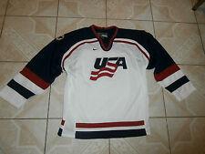 Team Nike USA United States Of America Sewn Logos Jersey Junior Large