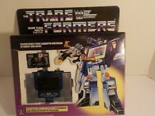 Transformers G1 Encore Reissue 3rd party SOUNDWAVE w green ravage Black Steeljaw