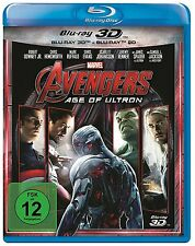 AVENGERS: AGE OF ULTRON (Robert Downey Jr.) Blu-ray 3D + Blu-ray Disc NEU+OVP