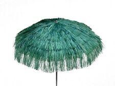 Maffei Parasol Kenya Green Art.6 Raffia d.78 11/16in With Lining made in Italy