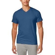 Alfani Mens Slub V-Neck Tee T-Shirt BHFO 3127