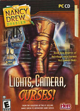 Nancy Drew Dossier LIGHTS, CAMERA, CURSES! PC Game for Windows NEW in BOX!