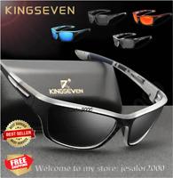 KINGSEVEN Ultralight Frame Polarized Sunglasses Outdoor Sport Men Shades UV400