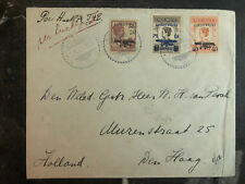 1928 Netherlands Indies Cover To hague Holland Airmail KLM