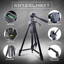 157cm Kamerastativ mit Kugelkopf Universal Fotostativ max Belastbarkeit bis 5KG★