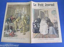 Le petit journal 1894 178 toilette première communiante foire aux pain d'épice