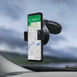 360 In Car Mobile Phone Holder Dashboard Windscreen Suction Universal Mount UK