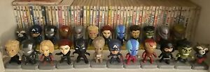 Avengers Endgame 2019 McDonald's Toy Figures Complete Set of 24 Pre-Owned