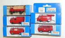 5x Roco Feuerwehr Modell: 1370, 1456, 1314, 1377, 1362 OVP TOP