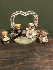 Enesco Cherished Teddies Our Cherished Wedding Collectors Set 510254