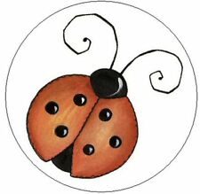 "~PRETTY LADYBUG~  1"" Sticker / Seal Labels!"