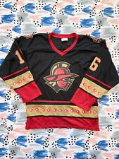 Gwinnett Gladiators Hockey Jersey Sz Xl Promotion Black Double Sided Kroger