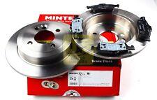 MINTEX REAR BRAKE SET DISCS, PADS FOR MINI MINI MDK0183 (REAL IMAGE OF PART)