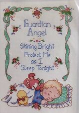 Counted Cross Stitch Kit Dimensions BABY HUGS GUARDIAN ANGEL Sweet Heirloom Gift