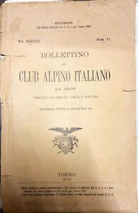 BOLLETTINO DEL CLUB ALPINO ITALIANO PEL 1906 - NUM. 71