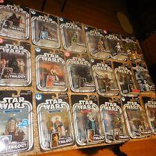 18 LOT STAR WARS FIGURES TRILOGY X14 SAGA R2-D2 YODA OBI-WAN HAN SOLO LUKE +