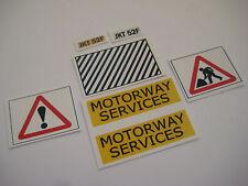 Dinky 417 - Motorway Services Bedford Van Stickers - B2G1F