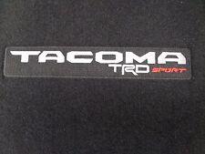 Toyota Tacoma 2016 - 2017 TRD Sport D-CAB A/T Carpet Floor Mats Genuine OEM OE