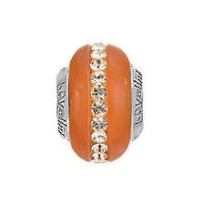 Lovelinks Burnt Orange  Murano and Crystal  1183662-94 rrp £45.95