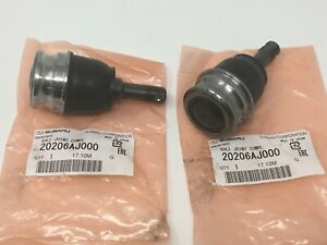 1990-18 Subaru Suspension Front Lower Ball Joint Set Of 2 Impreza 20206AJ000 OEM
