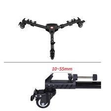 Photo Studio Folding 3 Wheels Tripod Dolly For Video Camera Backdrop Light Stand