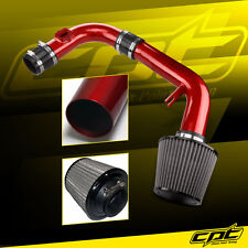 11-15 Chevy Cruze Non-Turbo 1.8L 4cyl Red Cold Air Intake + Stainless Air Filter