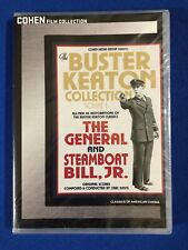 Buster Keaton Collection Vol. 1 The General & Steamboat Bill, Jr. Cohen New Dvd
